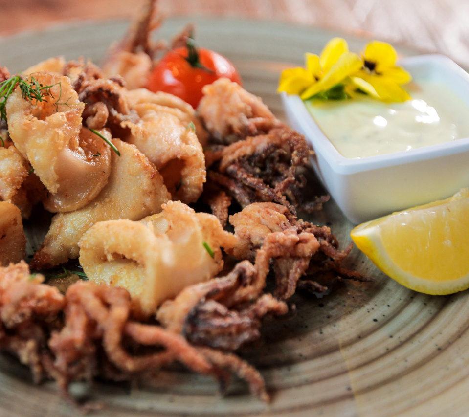 grieks koken squid