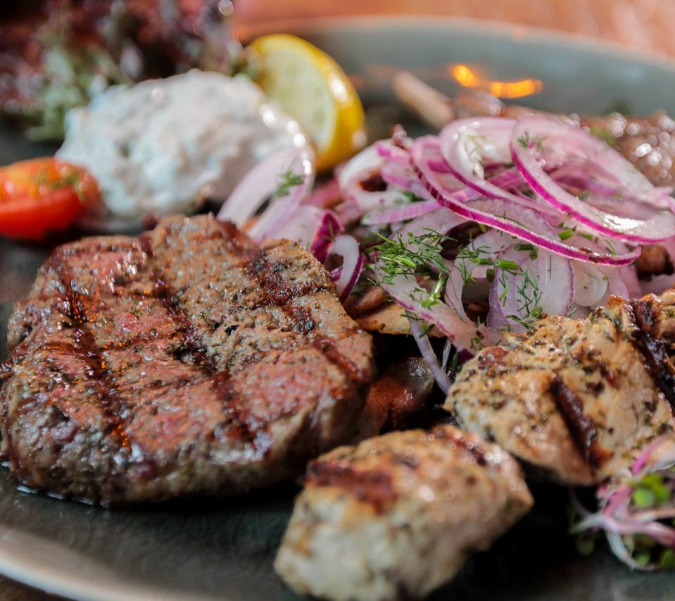 typisch grieks eten